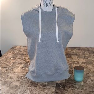 Urban Outfitters Sleeveless Hoodie